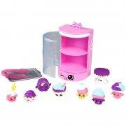 shopkins - foodfair legesæt - cupcake collection - Figurer