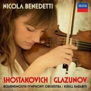 nicola benedetti - shostakovich: violin concerto no.1/ - cd