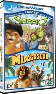 shrek 2 // madagascar - DVD