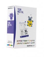 shufflebook - tegn med tal - dyr - Kreativitet