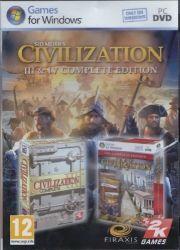sid meier's civilization iii & iv - complete edition - PC