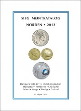 siegs møntkatalog norden. 2012 - bog