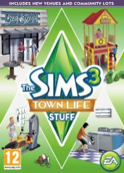 the sims 3: byliv (town life stuff) (dk) - PC