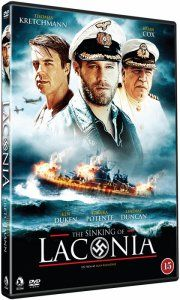 sinking of laconia - DVD