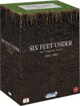 six feet under - den komplette serie - sæson 1-5 - hbo - DVD