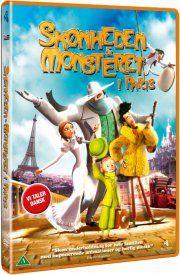 skønheden og monsteret i paris / a monster in paris - DVD