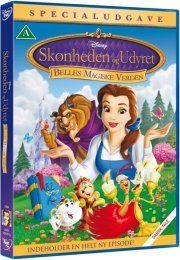 skønheden & udyret: belles magiske verden - special edition - disney - DVD