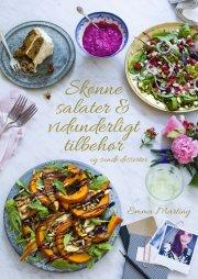 skønne salater og vidunderligt tilbehør - bog