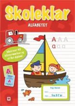 skoleklar: alfabetet - bog