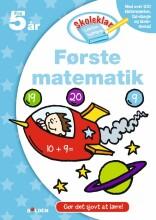 skoleklar lektiehjælper: første matematik - bog