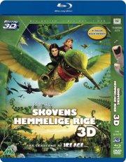 skovens hemmelige rige 3d  - blu-ray+dvd