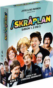 skråplan - sæson 1-3 - DVD