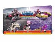 skylanders superchargers - triple pack - roller brawl + tome buggy + splatter splasher - Skylanders