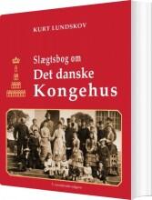 slægtsbog om det danske kongehus - bog