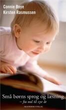 små børns sprog og læsning - bog