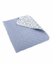 smallstuff sengetæppe - blå - 154 x 240 cm - Til Boligen