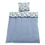 smallstuff baby sengetøj med stjerner - mørkeblå - 70 x 100 cm - Til Boligen