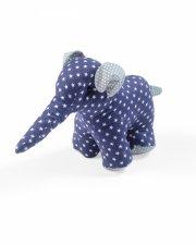smallstuff elefant bamse - blå - lille - Bamser