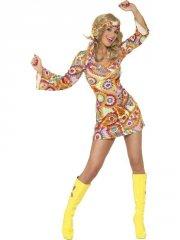 smiffys hippie kostume - large - Udklædning Til Voksne