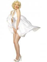 smiffys - marilyn monroe dress - medium (27428m) - Udklædning Til Voksne
