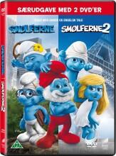 smølferne / the smurfs 1+2 - DVD