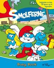 smølferne - busy book - bog