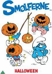 smølferne halloween - DVD