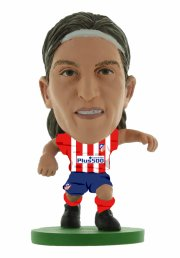 soccerstarz - atletico madrid filipe luis - home kit (classic)  - Figurer
