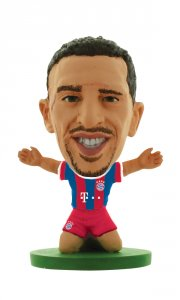 soccerstarz - bayern munchen franck ribery - home kit  - Figurer