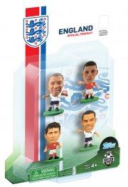 soccerstarz - england 4 player blister pack b - walcott, lampard, barkley, oxlade-chamberlain - Figurer