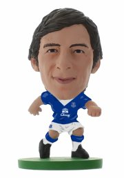 soccerstarz - everton leighton baines home kit (2016 version) /figures - Figurer
