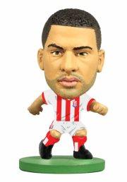 soccerstarz - stoke city ?glen johnson - home kit (2016 version) - Figurer