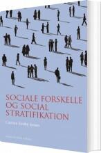sociale forskelle og social stratifikation - bog