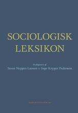 sociologisk leksikon - bog