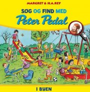 søg og find med peter pedal - i byen - bog