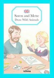 søren and mette draw wild animals - bog