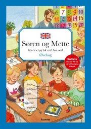 søren og mette lærer engelsk ord for ord - øvebog - bog