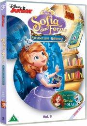 sofia den første / sofia the first - det hemmelige bibliotek - DVD