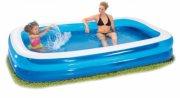 softside pool / badebassin - 200 x 150 cm - blå - Bade Og Strandlegetøj