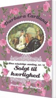 solgt til kærlighed - bog