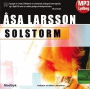 åsa Larsson - Solstorm - Lydbøger På Cd
