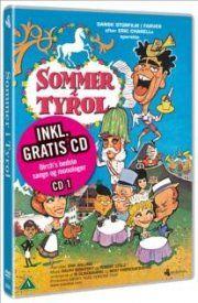 sommer i tyrol - 12 gode grin med dirch - vol. 1  - DVD+CD