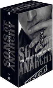 sons of anarchy - sæson 1-5 - DVD