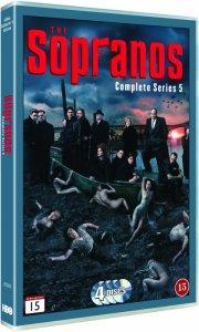 sopranos - sæson 5 - DVD