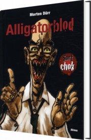 sort chok, alligatorblod - bog