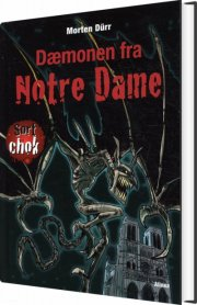 sort chok, dæmonen fra notre dame - bog
