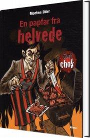 sort chok, en papfar fra helvede - bog