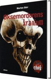 sort chok, øksemorderens kranium - bog