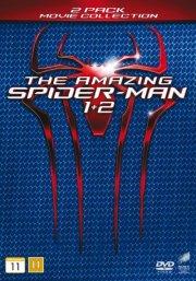 spiderman boks - the amazing spiderman 1+2 - DVD