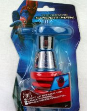 spiderman snurretop med lys - Diverse